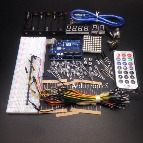 Arduino Basic Kit (กล่องกระดาษแข็ง)
