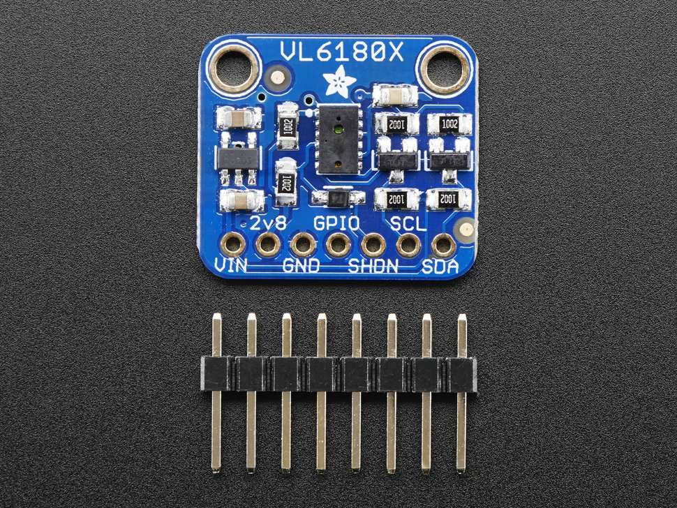 Adafruit VL6180X Time of Flight Distance Sensor (VL6180) (0 to 200 mm)