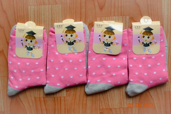 S148 **พร้อมส่ง** (ปลีก+ส่ง) ถุงเท้าแฟชั่นเกาหลี ข้อยาว เนื้อดี งานนำเข้า(Made in China)