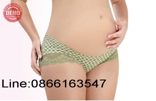 กางเกงชั้นในคนท้องรุ่นใส่ใต้ท้องสีเขียวตามภาพมี 3 ไซต์ให้เลือก L + XL + XXL ใส่สบายไม่อึดอัดค่ะ