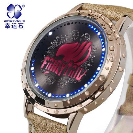 นาฬิกาจอสัมผัส LED Fairy Tail สีทอง (ของแท้ลิขสิทธิ์) **มีให้เลือก 6 แบบ**