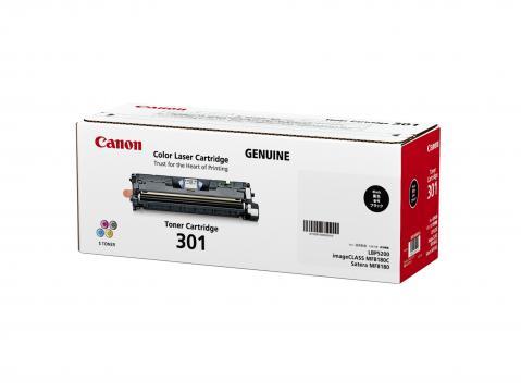 Canon Cartridge-301BK ตลับหมึกโทนเนอร์ สีดำ Black Toner Original Cartridge