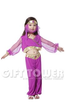 ชุดเจ้าหญิงอาหรับสำหรับเต้นอาหรับ ขนาด M, L, XL