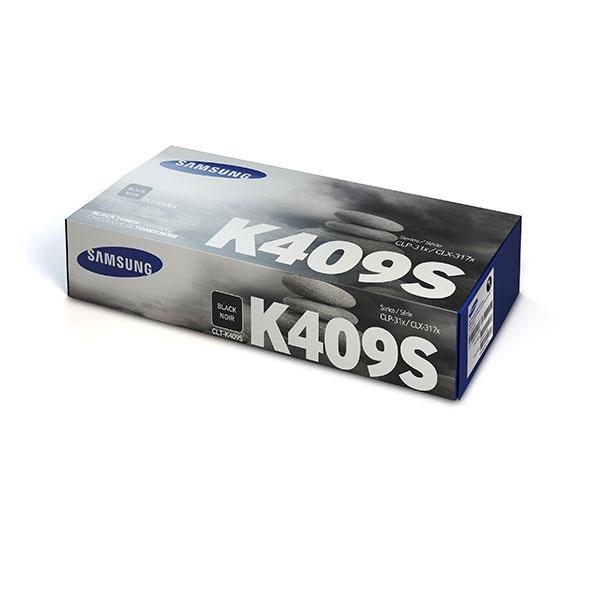 Samsung CLT-K409S ตลับหมึกโทนเนอร์ สีดำ ของแท้ Black Original Toner Cartridge (SU140A)
