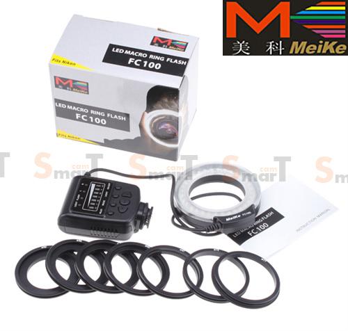Meike LED Macro Ring Flash FC100