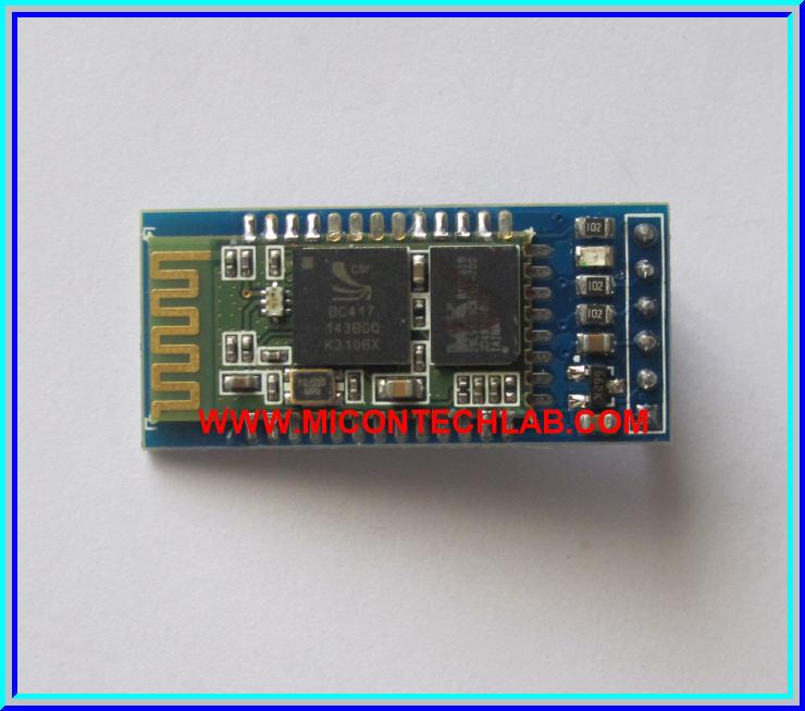 1x Bluetooth HC-05 RF Transceiver module (HC-05 Master+Slave)