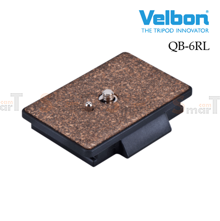 Velbon QB-6RL Quick Release Plate for PH-368, DV6000, DV7000