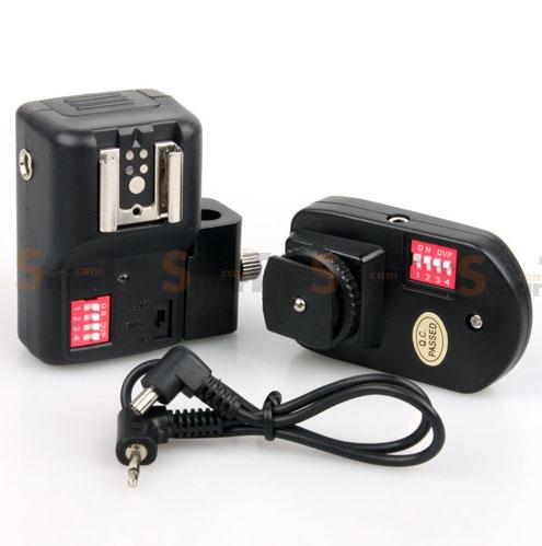 Flash Wireless Trigger PT-16NE set with Umbrella Holder 1 Receiver