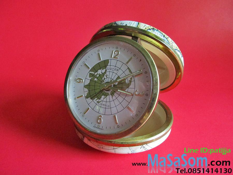นาฬิกาปลุกไขลานแบบพับ