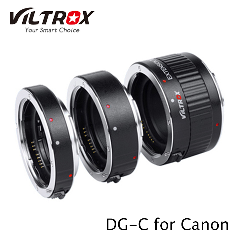 VILTROX DG-C Automatic Extension Tube Set Canon (Auto-Focus)