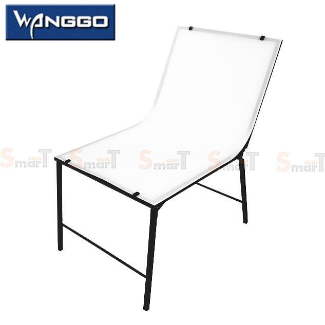 โต๊ะถ่ายภาพราคาประหยัด พับได้ (60x100cm)