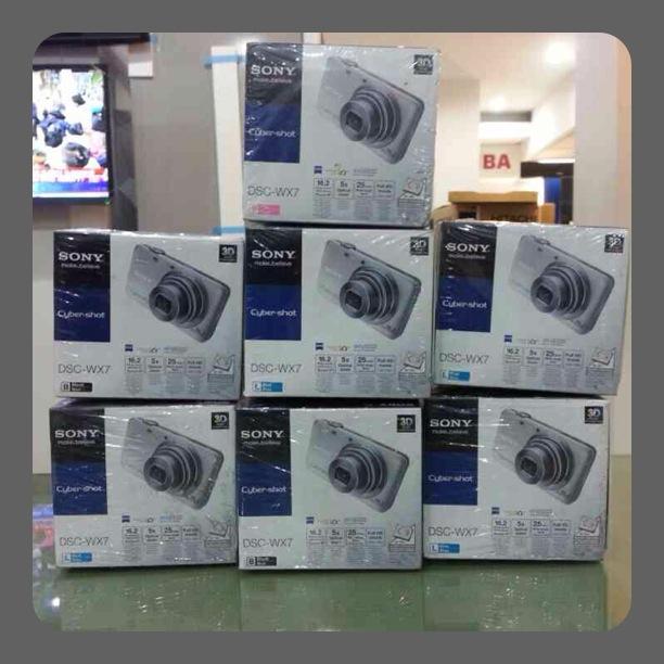 DSC-WX7 กล้องดิจิตอล Cyber-shot WX Series ให้ความละเอียดภาพสูงถึง 16.2 ล้านพิกเซล ฉลองเทศกาลลดราคาถูกสุดๆ โทรเลย 097-210-8092 ,02-882-5619