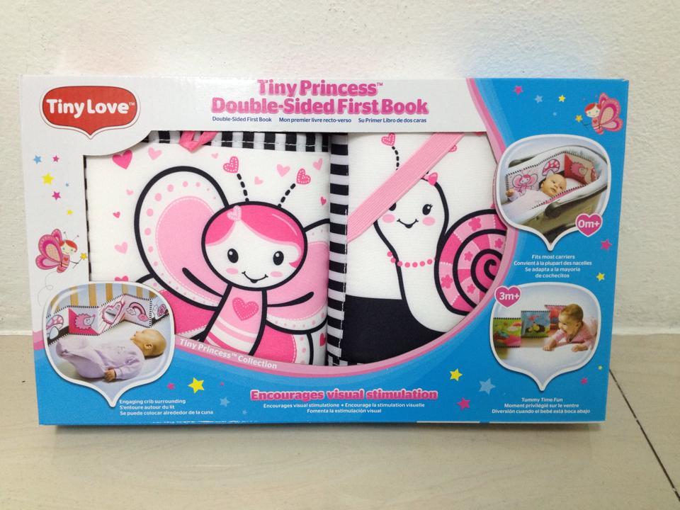 หนังสือผ้า+แผ่นกระตุ้นสายตา Tiny love (แท้100%)